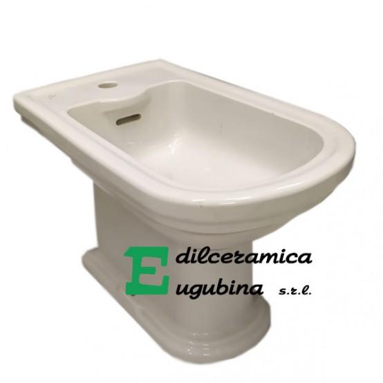 Calla Ideal Standard Bidet A Terra Porcellana Bianco Sanitari Con Sedile Edilceramica Eugubina
