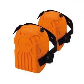 Ginocchiera per piastrellista in morbido poliuretano con interno preformato Kapriol 25250 Arancione